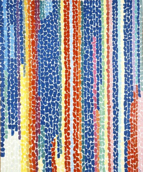 Iris, Tulips, Jonquils, and Crocuses, 1969 - Альма Томас