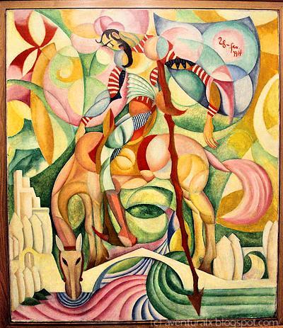Don Quihote, 1914 - Amadeo de Souza-Cardoso