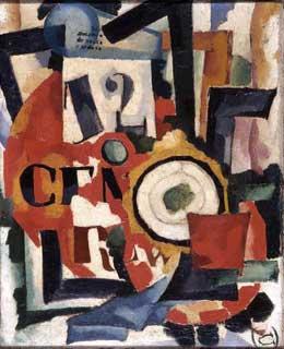 Interior expression of things, c.1914 - c.1915 - Amadeo de Souza-Cardoso