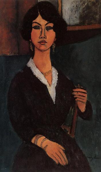Almaisa, 1916 - Amedeo Modigliani