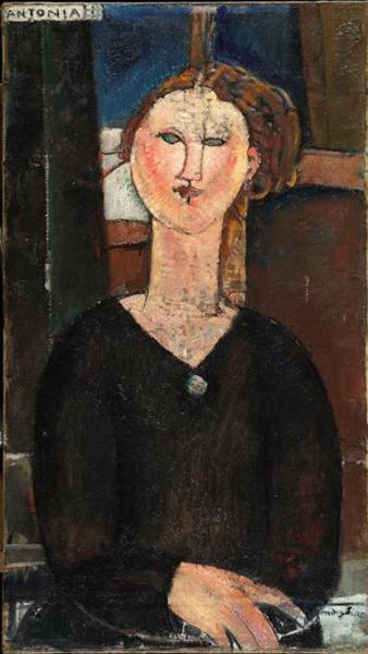 Antonia, 1915 - Amedeo Modigliani