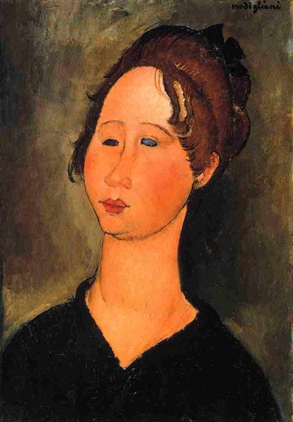 Burgundian Woman, 1918 - Amedeo Modigliani