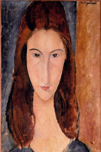 Jeanne Hebuterne, 1919 - Amedeo Modigliani