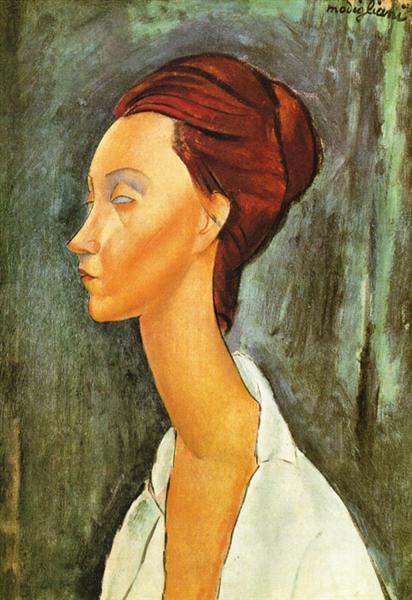 Lunia Czechovska, 1919 - Amedeo Modigliani