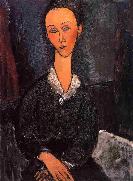 Lunia Czechowska, 1917 - Amedeo Modigliani