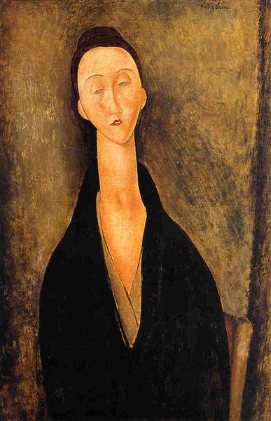 Lunia Czechowska, 1919 - Amedeo Modigliani