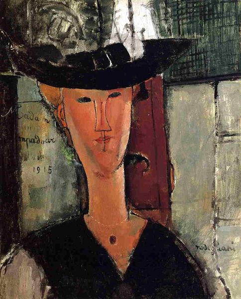 Madame Pompadour, 1914 - Amedeo Modigliani