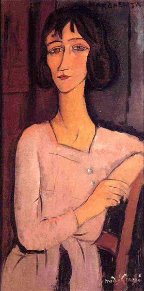 Margarita seated, 1916 - Amedeo Modigliani