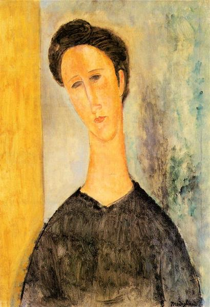 Portrait of a Woman, c.1910 - Amedeo Modigliani