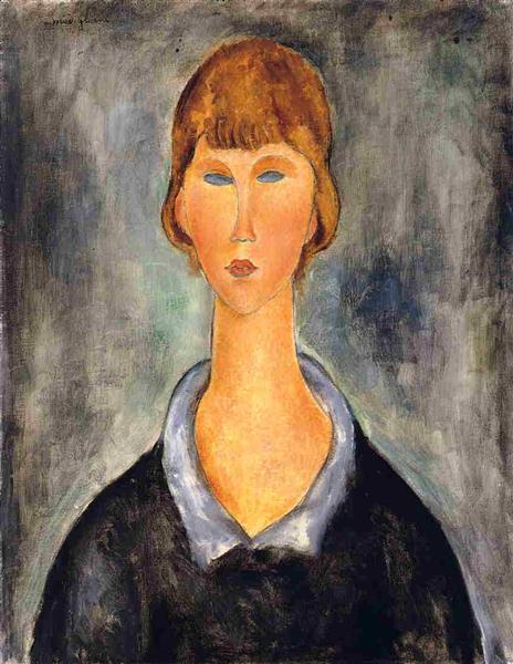 Portrait of a Young Woman, 1919 - Amedeo Modigliani