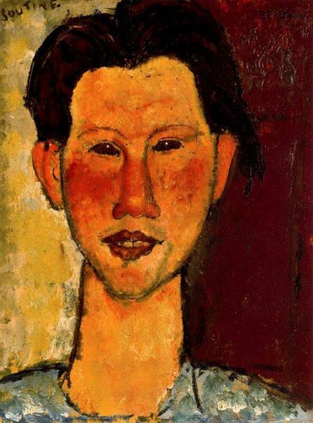 Portrait of Chaim Soutine, 1915 - Amedeo Modigliani
