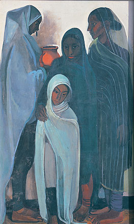 Hill Women, 1935 - Амріта Шер-Гіл