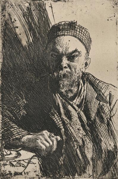 Paul Verlaine - Anders Zorn