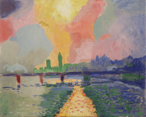 Image result for Charing Cross Bridge - André Derain
