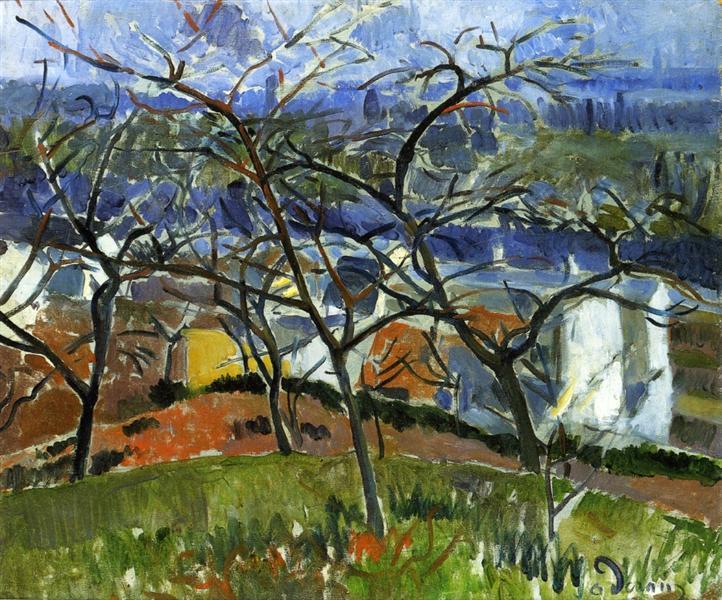 Landscape near Chatou, 1904 - Andre Derain