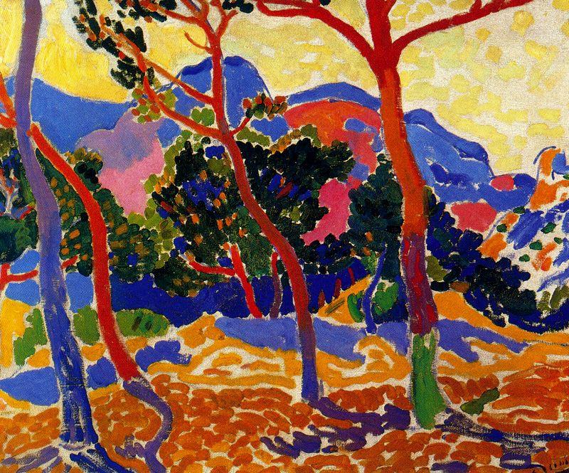 The Trees - André Derain - Fauvismo - Domingo com Limonada