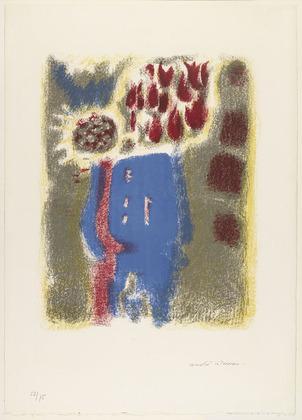 Blue Vase, 1956 - Андре Массон