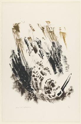 Depressed Woodcock, 1952 - Андре Массон