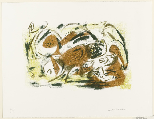 The Frogs, 1948 - André Masson