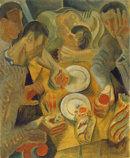 The meals, 1923 - Andre Masson
