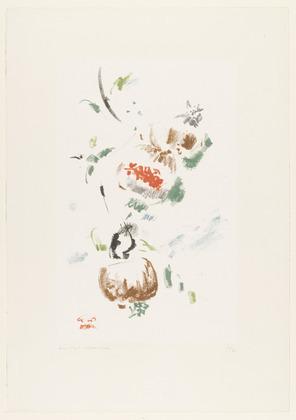 Three Pomegranates, 1950 - Андре Массон