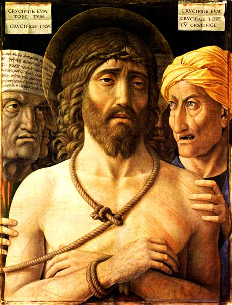 Ecce Homo, 1502 - Andrea Mantegna