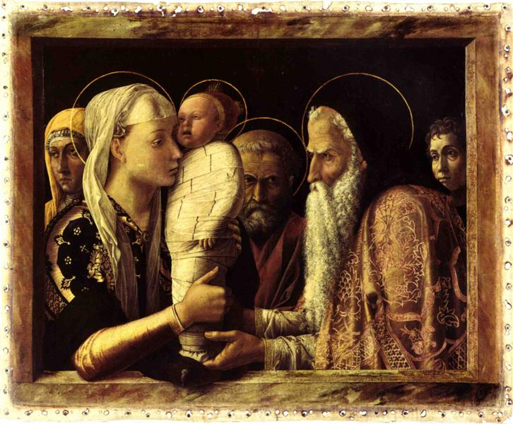 Presentation of Christ in the temple - Mantegna Andrea