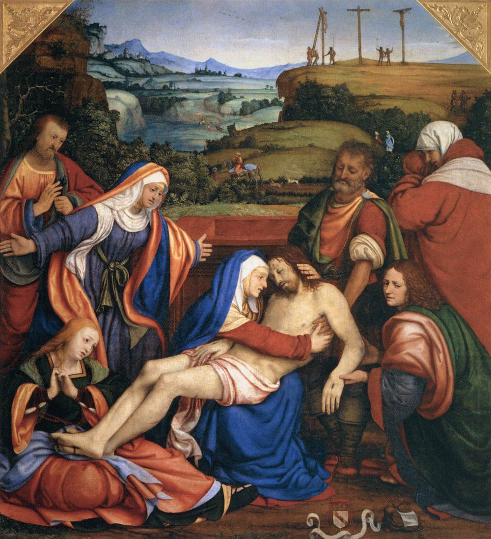 The Lamentation Of Christ C 1504 C 1507 Andrea