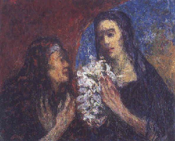 La Visitación, 1933 - Andres de Santa Maria