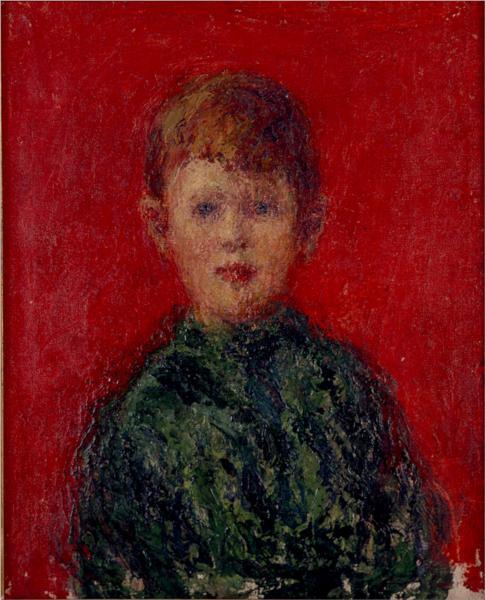 Niño vestido de verde, 1913 - Andres de Santa Maria