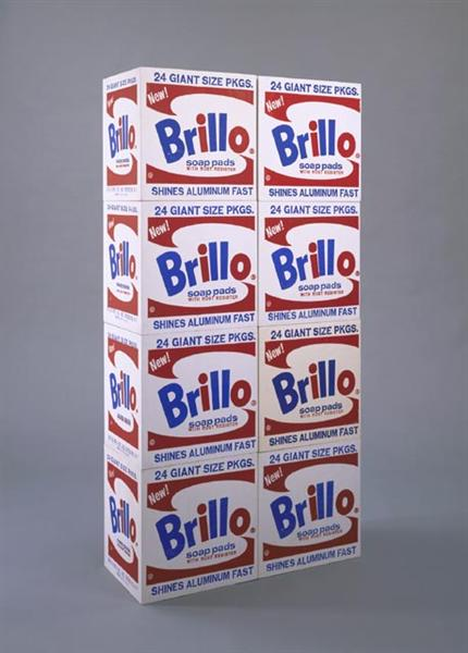 Brillo Soap Pads Boxes, 1964 - Andy Warhol