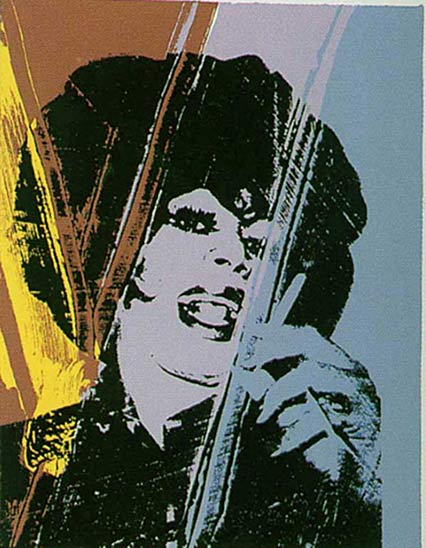 Drag Queen, 1975 - Andy Warhol