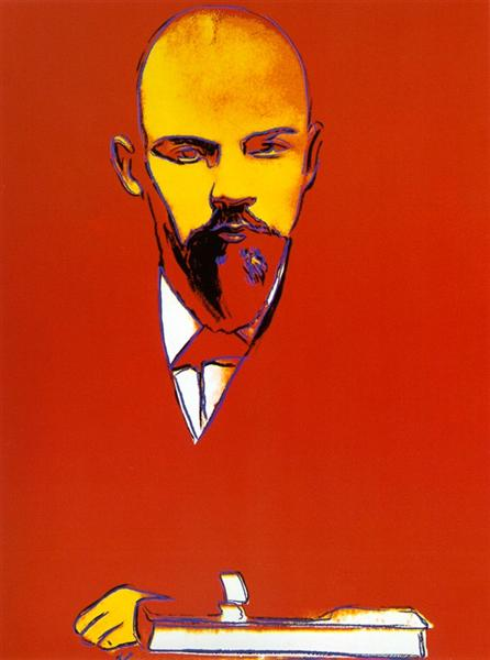 Red Lenin, 1987 - Andy Warhol