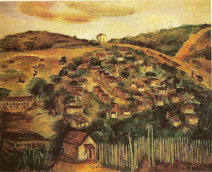 Cambuquira, 1945 - Anita Malfatti