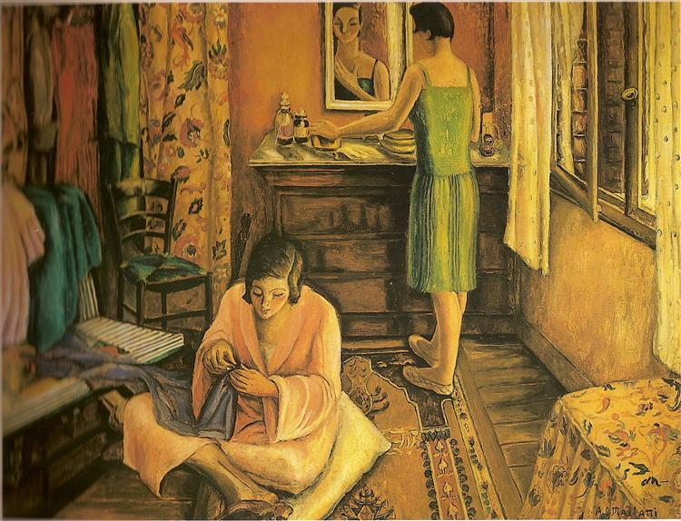 La rentrée, 1927 - Anita Malfatti