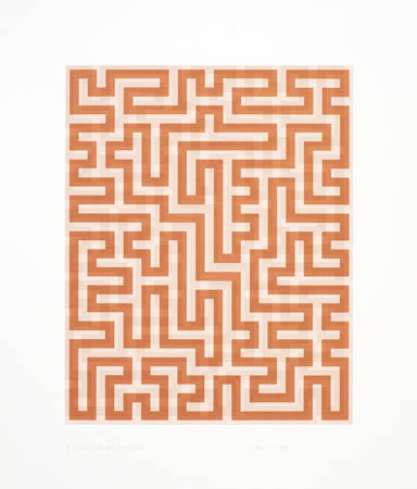 Red Meander II, 1971 - Anni Albers
