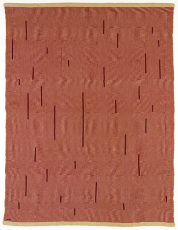 With Verticals, 1946 - Anni Albers
