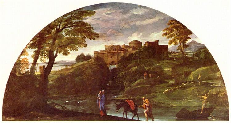 The Flight into Egypt, c.1603 - Annibale Carracci