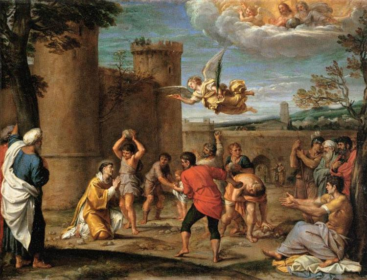 The Stoning of St Stephen, 1603 - 1604 - Annibale Carracci