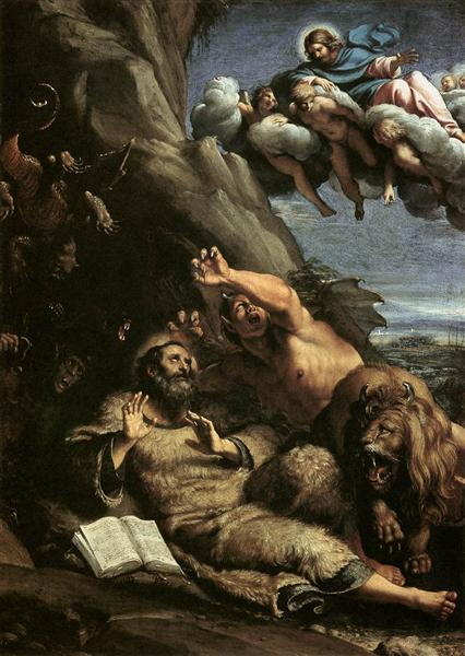 The Temptation of St Anthony Abbot, 1597 - Annibale Carracci