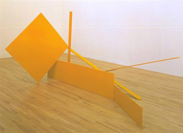 Yellow Swing, 1965 - Anthony Caro