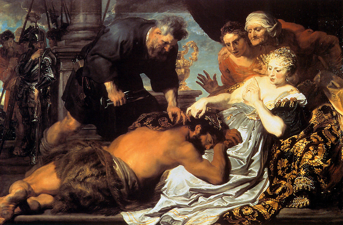 I AM COMING SOON! : Samson and Delilah / His Death With