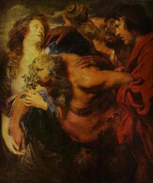 Silenus Drunk, c.1621 - Anthony van Dyck