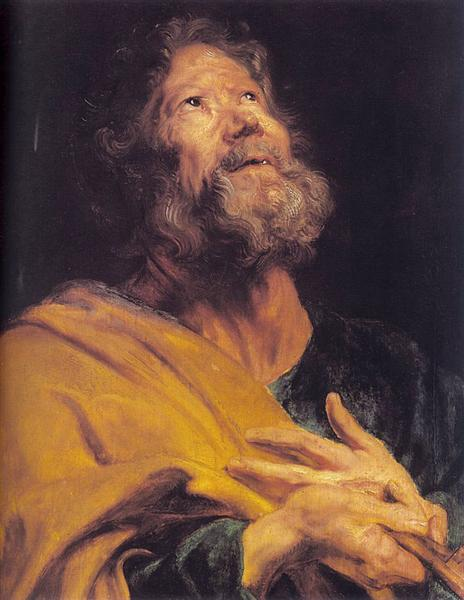The Penitent Apostle Peter, 1617 - 1618 - Anthony van Dyck