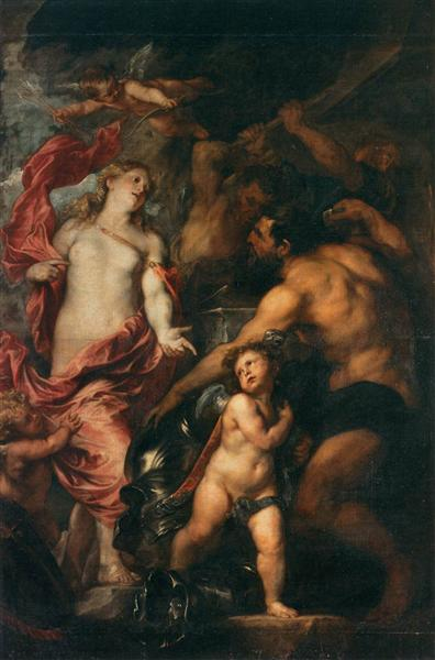 Venus asking Vulcan for the Armour of Aeneas, 1630 - 1632 - Anthony van Dyck