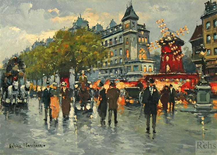 Moulin Rouge - Antoine Blanchard