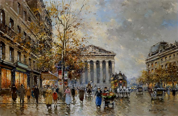 Rue Royal Madeleine - Antoine Blanchard