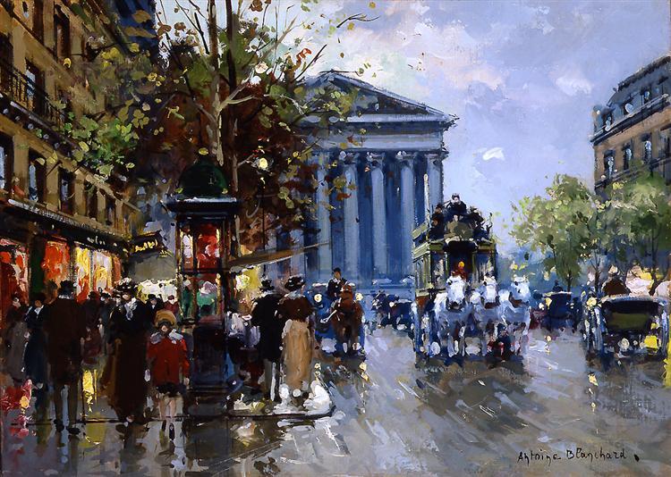 Rue Royal Madeleine - Антуан Бланшар