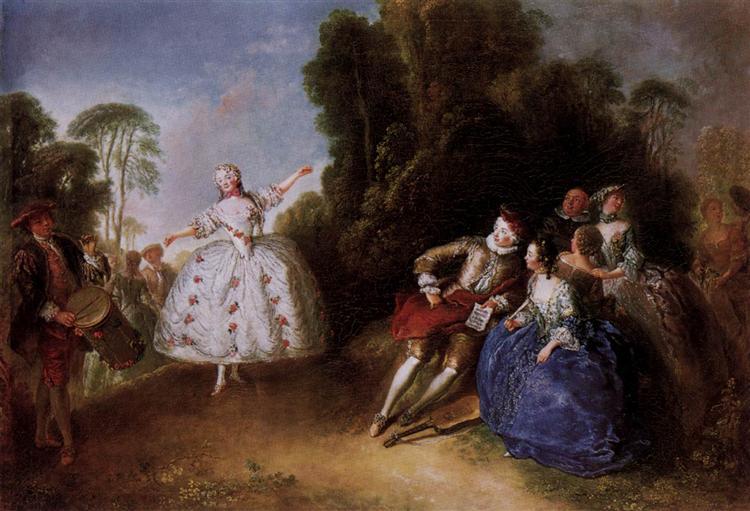 Marianne Cochois, c.1750 - Antoine Pesne