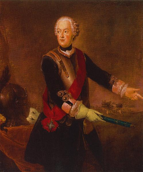 Prince Augustus William of Prussia, c.1750 - Antoine Pesne